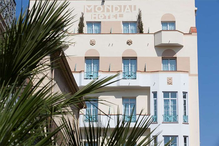 Hotel Le Mondial BW Premier Collection main exterior